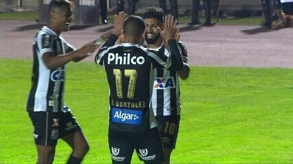 Os gols de Gabriel em Paraná 0 x 2 Santos pela 24ª rodada do Brasileirão 2018