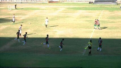 River-PI perde para o Fluminense-PI na estreia do Campeonato Piauiense sub-17; veja