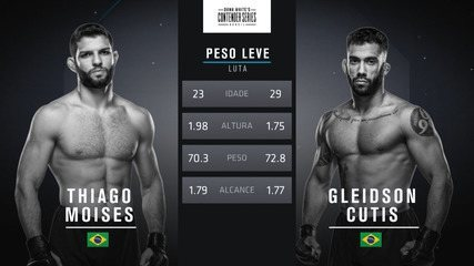 The Contender Series Brasil 1 - Thiago Moises x Gleidson Cutis