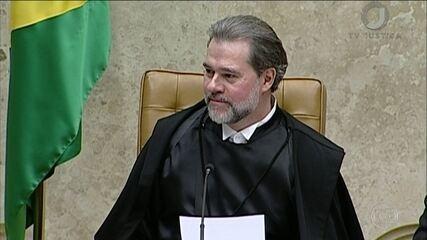 Dias Toffoli é empossado presidente do Supremo Tribunal Federal