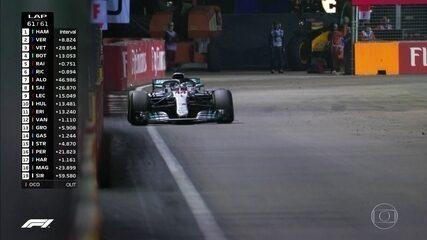 Melhores momentos: GP de Singapura