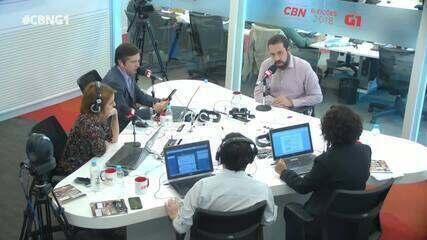 Guilherme Boulos (PSOL) é entrevistado pelo G1 e pela CBN