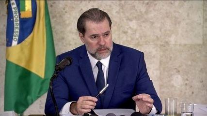 Dias Toffoli defende a segurança das urnas eletrônicas que já são usadas há 18 anos