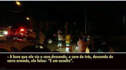 Mulher de empresário conta como criminosos abordaram o casal em condomínio em Londrina