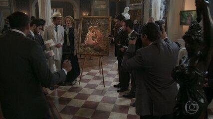 Januário expõe sua arte em Londres ao lado de Ludmila