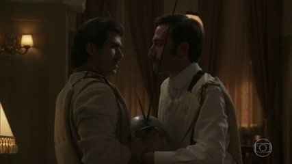 Luccino e Otávio duelam em comemoração