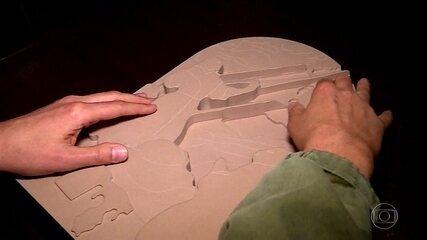 Exposição recria pinturas de São Francisco de Assis em 3D