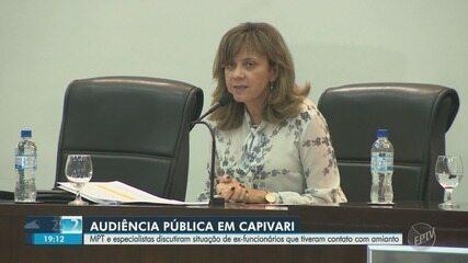 Capivari tem audiência para discutir problemas de saúde causados por amianto em empresa
