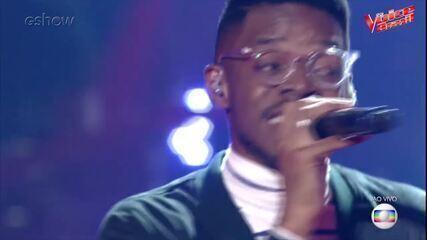 Confira a trajetória de Kevin Ndjana no 'The Voice Brasil'