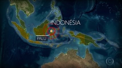 Forte terremoto atinge a Indonésia