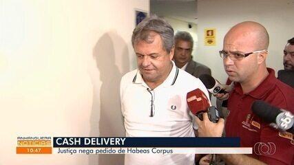 Justiça nega pedido de soltura de presos na Operação Cash Delivery, em Goiânia