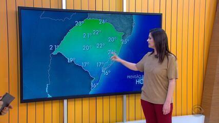 Tempo: previsão é de chuva forte para várias cidades do RS nesta terça-feira (2)