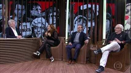 Claudia Raia fala sobre a personagem Tonhão