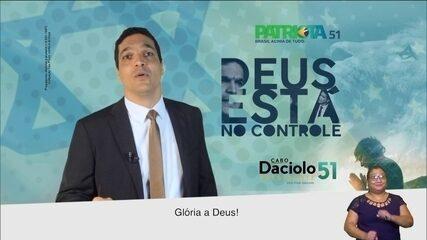 Veja último horário eleitoral do candidato Cabo Daciolo