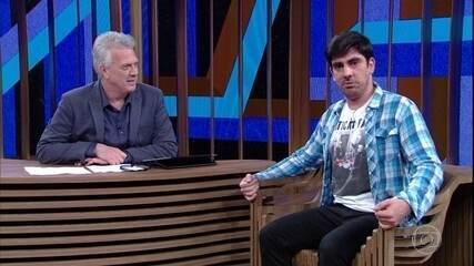 Marcelo Adnet explica como compõe suas imitações
