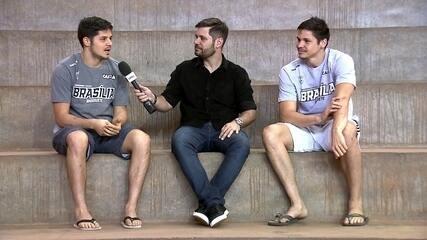 Com os irmãos Pedro e Luís, Brasília volta ao NBB e encara o Vasco no retorno da competição
