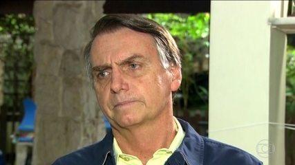 Candidato do PSL, Jair Bolsonaro, fala como pretende combater a corrupção