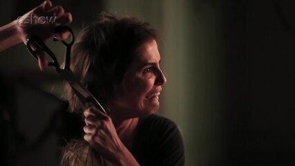 Making of do corte de cabelo da Karola em 'Segundo Sol'