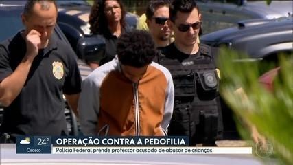 PF deflagra operação contra a pedofilia