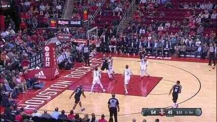 Melhores momentos: Utah Jazz 100 x 89 Houston Rockets de NBA