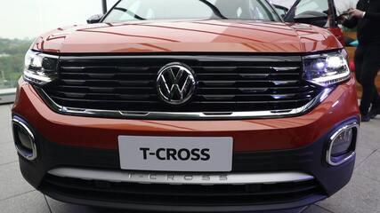 Volkswagen T-Cross é apresentado no Brasil