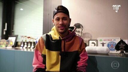 Neymar manda recado para Lais Souza
