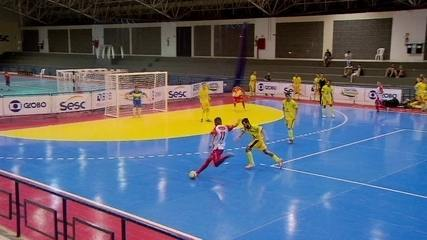 Copa Brasília de Futsal tem vitória por WO e partidas com muitos gols na rodada