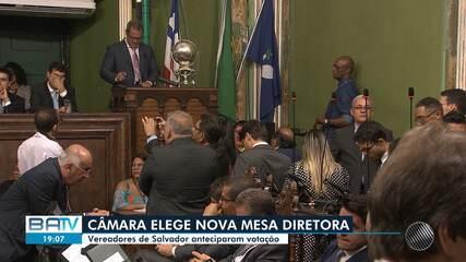 Vereadores de Salvador elegem nova mesa diretora para os próximos dois anos