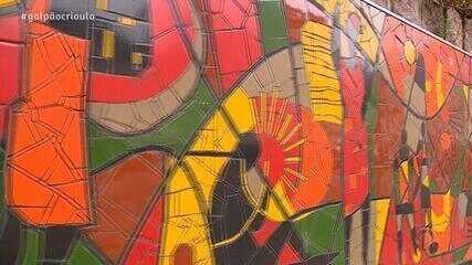 Neto Fagundes conhece Museu de Percurso do Negro no De Mala e Cuia