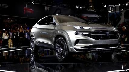 Salão do Automóvel 2018: Fiat mostra conceito fastback