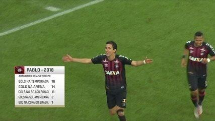 Comentaristas destacam Pablo e Raphael Veiga como forças do Atlético-PR para semifinal