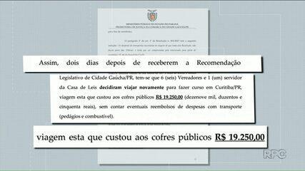 MP-PR propõe ação por improbidade contra Câmara de Cidade Gaúcha
