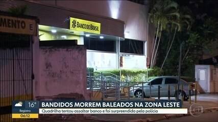 Bandidos morrem baleados pela PM na Zona Leste em novembro de 2018