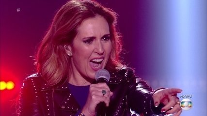 Renata Capucci cantou 'Livin On A Prayer'