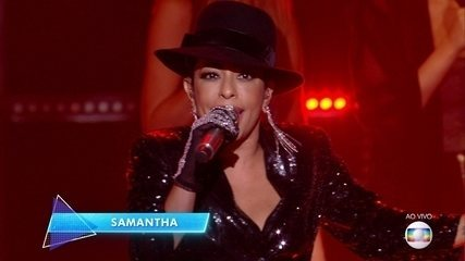 Samantha cantou 'Billie Jean'