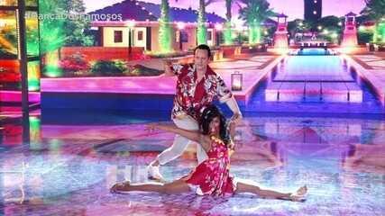 Danton Mello e Brennda Martins levantam a plateia com a salsa