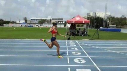 Letícia Lima conquista a medalha de ouro nos 200m dos Jogos Escolares da Juventude 2018