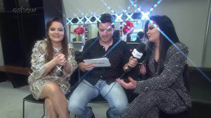 Maiara e Maraísa falam nos bastidores do Festeja