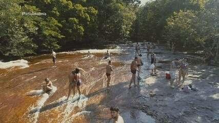 Parte 3: Pra fechar, tem tour pela Cachoeira do Mutum