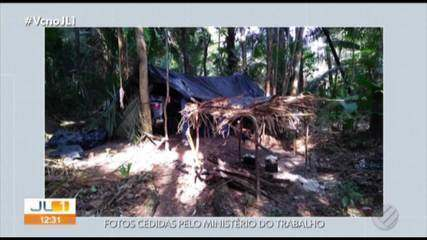 Ministério do Trabalho resgatou homens em situação de escravidão, em Novo Repartimento