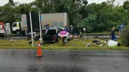 Manhã de sábado (24) é marcada por, pelo menos, 13 acidentes de trânsito no RS