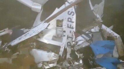 Queda de helicóptero mata seis pessoas em Campos do Jordão