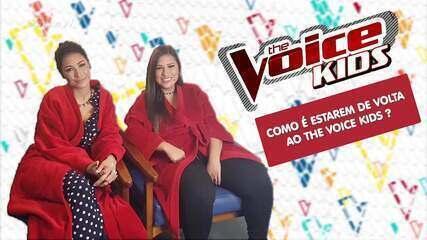 Simone e Simaria começam a gravar nova temporada do The Voice Kids
