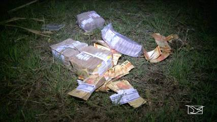 Polícia permanece em busca por bandidos que assaltaram banco em Bacabal
