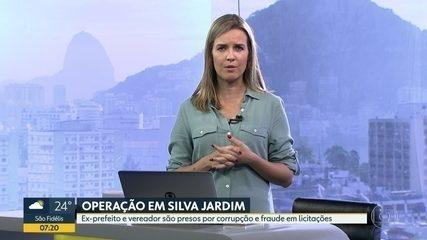 Operação em Silva Jardim