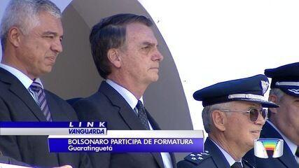 Presidente eleito, Jair Bolsonaro visita região do Vale do Paraíba