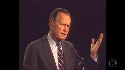 Morre aos 94 anos o ex-presidente dos EUA George H. W. Bush