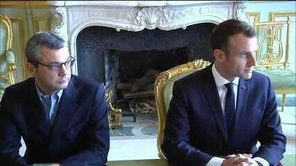 Macron faz reunião de crise na França neste domingo (2)