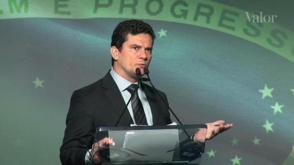 Moro critica reforma política e corte de recursos para a PF