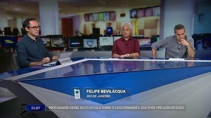 Procurador do STJD acha difícil punição a clubes em caso envolvendo jogador do Goiás